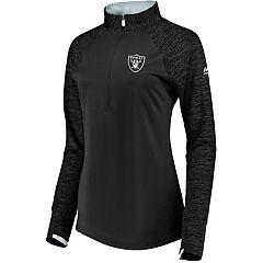 Women's Oakland Raiders Ultra Streak Pullover