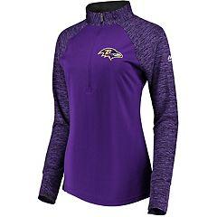 Women's Baltimore Ravens Ultra Streak Pullover