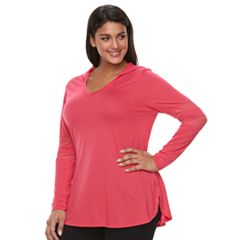 Plus Size French Laundry Mesh Hoodie