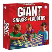 Giant Snakes & Ladders Game by Pressman Toy