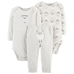 Baby Carter's 3-pc. Sheep Bodysuits & Pants Set