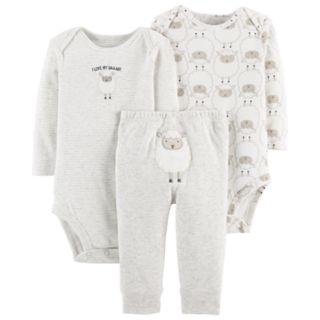 Baby Carter's 3-pc. Sheep Bodysuits & Pants Set