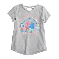 Girls 4-10 Jumping Beans® Dreamworks Trolls Glittery Graphic Tee