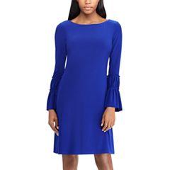 Women's Chaps Bell Sleeve Sheath Dress