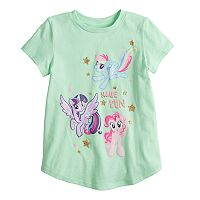 Girls 4-10 Jumping Beans® My Little Pony Rainbow Dash, Twilight Sparkle & Pinkie Pie Graphic Tee