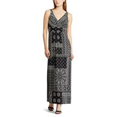 Women's Chaps Vine Empire Maxi Dress