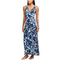 Women's Chaps Vine Empire Maxi Dress