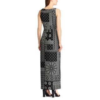 Petite Chaps Vine Empire Maxi Dress