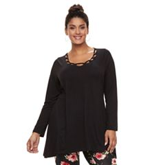 Plus Size French Laundry Embellished Top