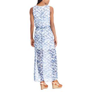 Women's Chaps Geometric Maxi Dress