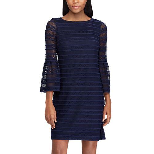 Women's Chaps Lace Sheath Dress