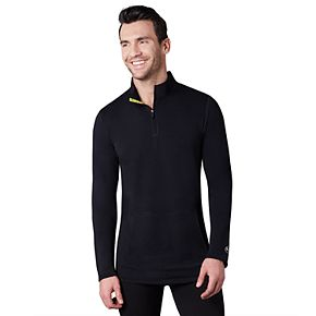 Men's Climatesmart by Cuddl Duds® Comfort Wear Performance Quarter-Zip Pullover