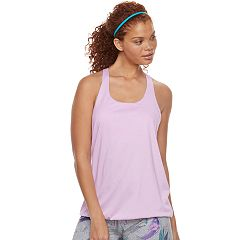 Women's Tek Gear® Built-In Bra Banded Hem Tank
