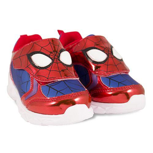 cd63f005073f Marvel Spider-Man Toddler Boys  Light Up Shoes