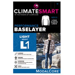 Men's Climatesmart by Cuddl Duds® Performance Modal Core Crewneck Top