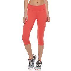 Women's Tek Gear® Performance Skimmer Capri Leggings