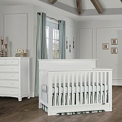 Dream On Me Morgan 5-in-1 Convertible Crib