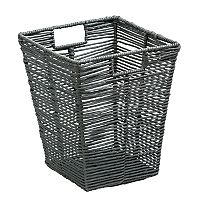 Honey-Can-Do Coastal Collection Paper Rope Trash Can