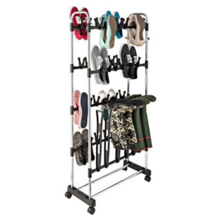 Honey-Can-Do Shoe & Boot Holder Stand