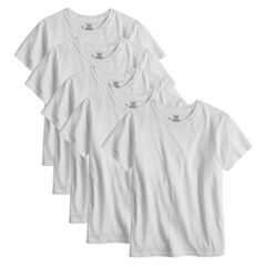 Boys 4-20 Hanes Ultimate Cool Comfort 5-Pack Tees