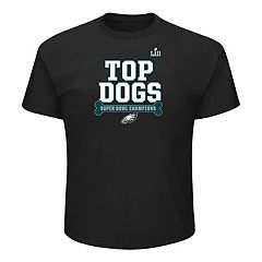 Men's Philadelphia Eagles Super Bowl LII Champions Top Dogs Tee