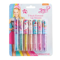 Girls 4-16 JoJo Siwa 7-pack Glitter Flavored Lip Glosses