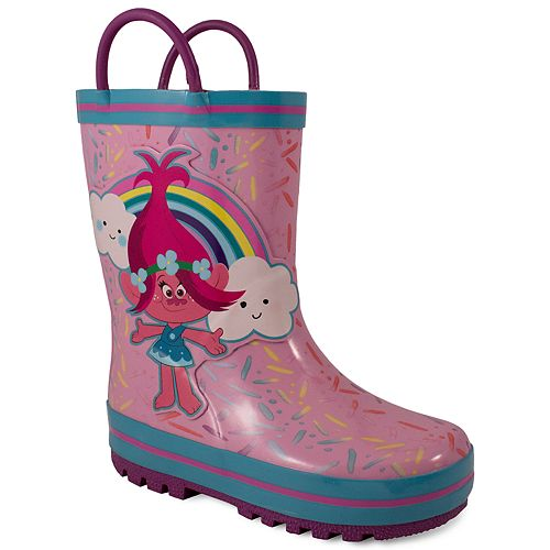 DreamWorks Trolls Poppy Toddler Girls' Rain Boots