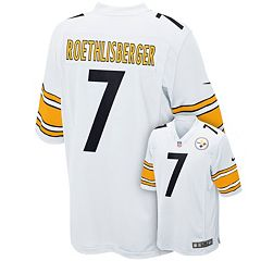 Men's Nike Pittsburgh Steelers Ben Roethlisberger Game NFL Replica Jersey - Men