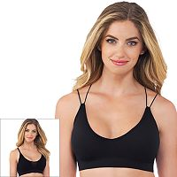 Lily of France 2-pack Seamless Comfort Dynamic Duo Bralette 2171941