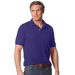 Men's Chaps Solid Pique Polo