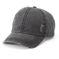 Women's Mudd® Distressed Baseball Cap