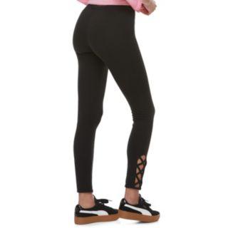 Juniors' SO® Lace-Up Leggings