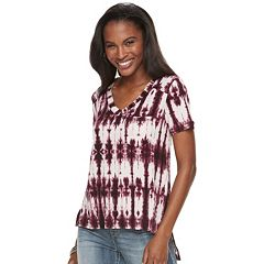 Women's Rock & Republic® Tie-Dye Pocket Tee