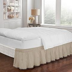 Brown Bed Skirts Bedding Bed & Bath
