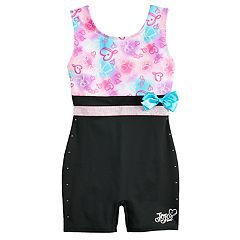 Girls 4-14 JoJo Siwa by Danskin Gradient Hearts Dance Biketard