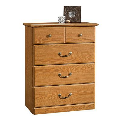 Sauder 4-Drawer Chest - Oak