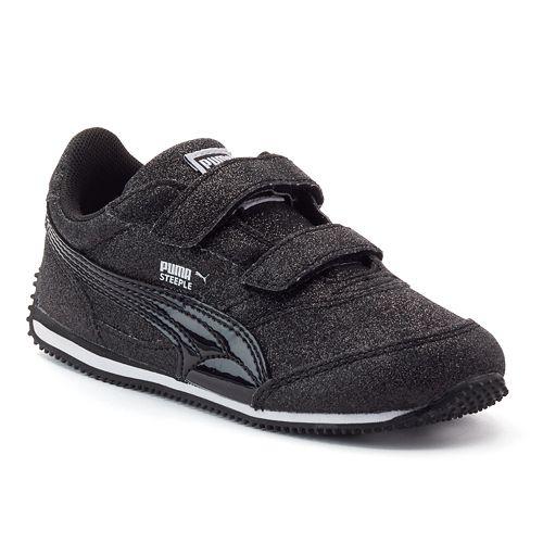 PUMA Steeple Glitz Glam V Toddler Girls  Shoes f832a5614
