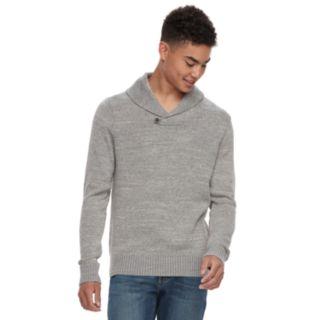 Men's Urban Pipeline? Shawl Collar Sweater