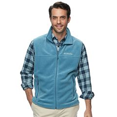Big & Tall Columbia Flattop Ridge Colorblock Fleece Vest