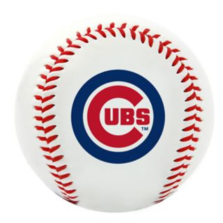 Chicago Cubs Team Logo Replica Baseball