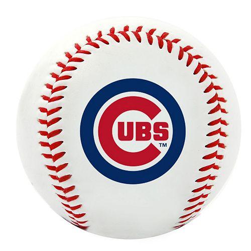Chicago Cubs Team Logo Replica Baseball