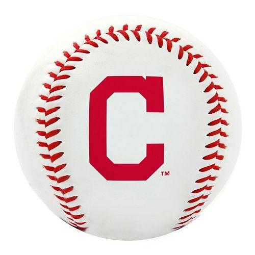 Cleveland Indians Team Logo Replica Baseball