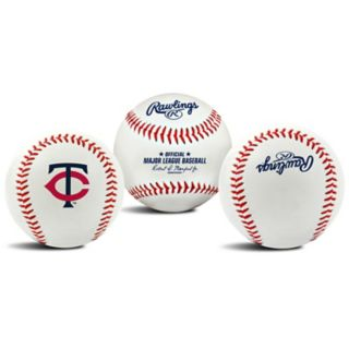 Minnesota Twins Team Logo Replica Baseball