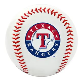 Texas Rangers Team Logo Replica Baseball