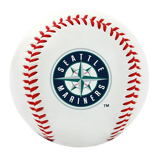 Seattle Mariners Team Logo Replica Baseball