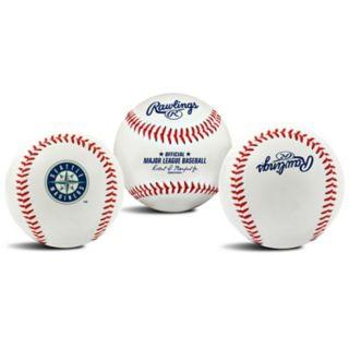 Seattle Mariners Team Logo Replica Baseball