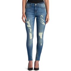 Women's Rock & Republic® Kashmiere Ripped Skinny Jean Leggings