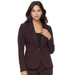 Women's Apt. 9® Torie Satin Collar Blazer