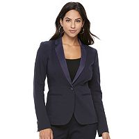 Women's Apt. 9® Torie Satin Collar Blazer