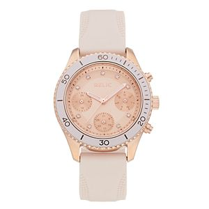 Relic by Fossil Women's Jean Crystal Accent Watch